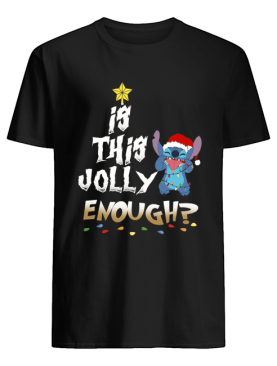 Is this Jolly Enough Stitch Christmas shirt