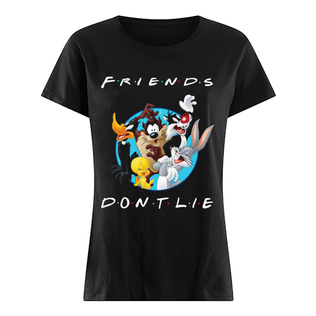 Looney Tunes Friends Don't Lie Classic Women's T-shirt