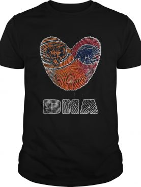 Love Chicago Bears Chicago Cubs its in my DNA shirt