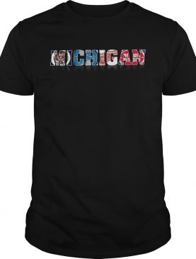Michigan Detroit Tigers Lions Red Wings Pistons shirt