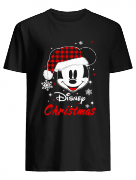 Mickey Mouse Santa Disney Christmas shirt