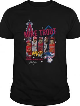 Mike Trout Los Angeles Angels MVP American League 2019 Signature shirt