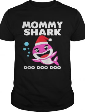 Mommy Shark Doo Doo Christmas Shirt for Family Pajamas shirt