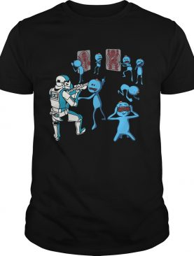 Mr Meeseeks And Stormtrooper Star War shirt