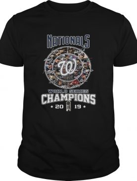 Nationals Signatures World Series Champions 2019 shirt