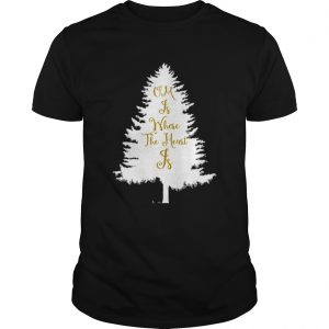 OM Is Where The Heart Is Christmas Tree Yoga  Unisex