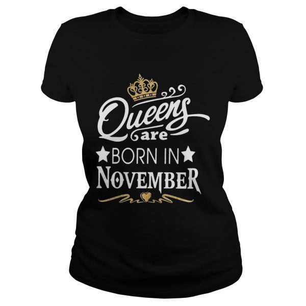 Queen Are Born In November Crown  Classic Ladies