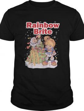 Rainbow Brite Christmas shirt
