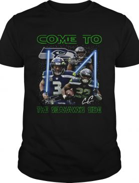 Seattle Seahawks come to the Seahawks side Star Wars shirt