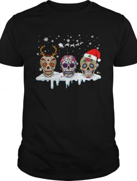 Skull Tattoos Christmas shirt