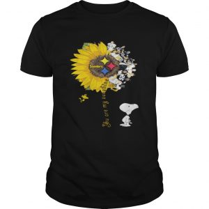 Snoopy Woodstock you are my sunshine Pittsburgh Steelers  Unisex