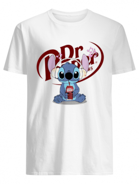 Stitch listen music drink Dr Pepper shirt
