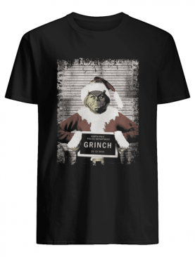 The Grinch North Pole Police Department Grinch Christmas shirt