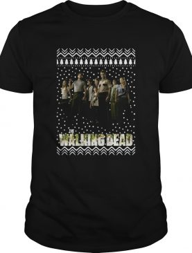 The Walking Dead Ugly Christmas shirt