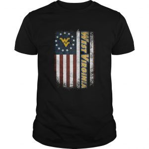 West Virginia Mountaineers Betsy Ross flag  Unisex