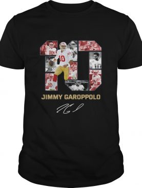 10 Jimmy Garoppolo San Francisco 49ers Signature shirt