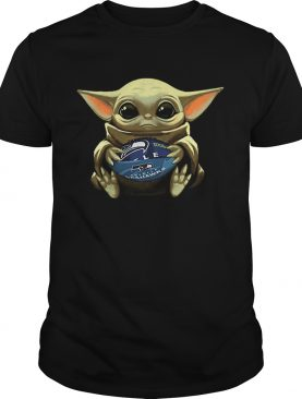 Baby Yoda Hug Seattle Seahawks shirt