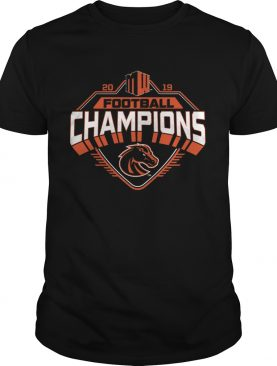 Boise State Broncos 2019 Mountain West Football Champions shirt
