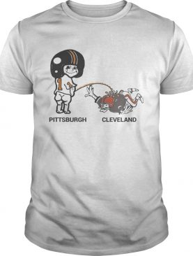 Cam Sutton Pittsburgh Peeing on Cleveland shirt