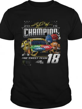 MMs Kyle Busch Joe Gibbs one sweet team signatures shirt
