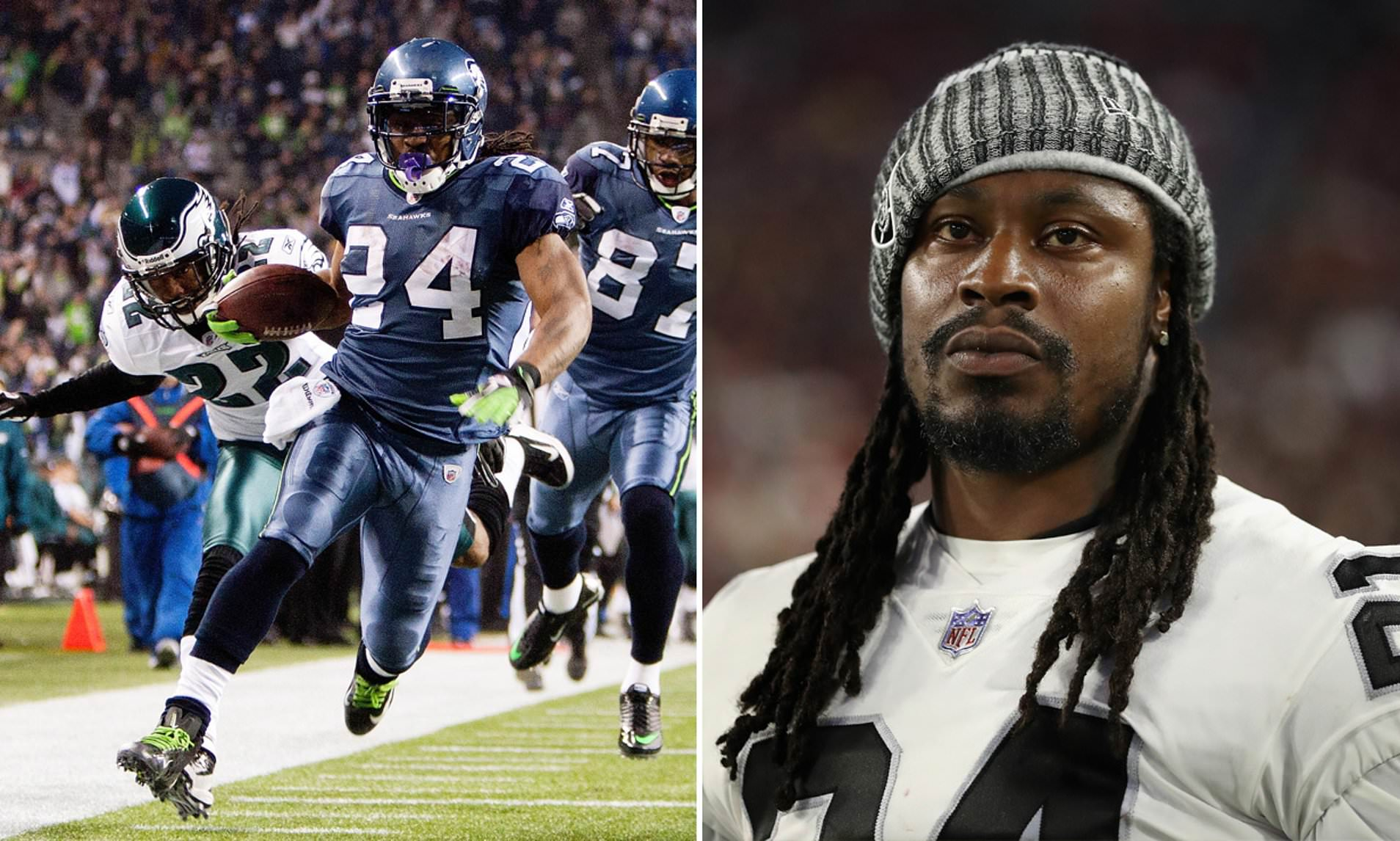 Marshawn Lynch reportedly in Seattle, could sign with Seahawks by 'end of day'