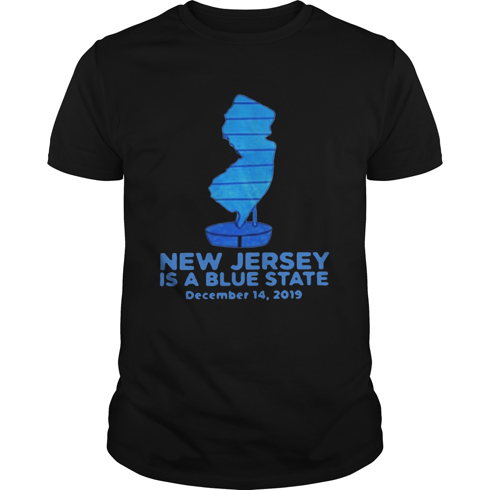 New Jersey Is A Blue State Unisex