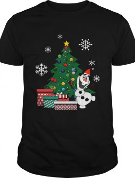 Olaf Around The Christmas Tree Frozen shirt