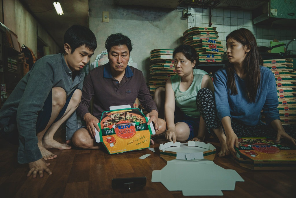 """Parasite,"" from South Korea, was nominated for best picture, and garnered nods for best director, original screenplay and international film.Credit..."