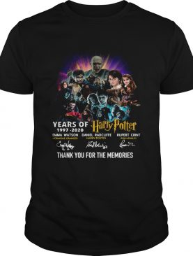 23 Years Of Harry Potter Thank You For The Memories shirt