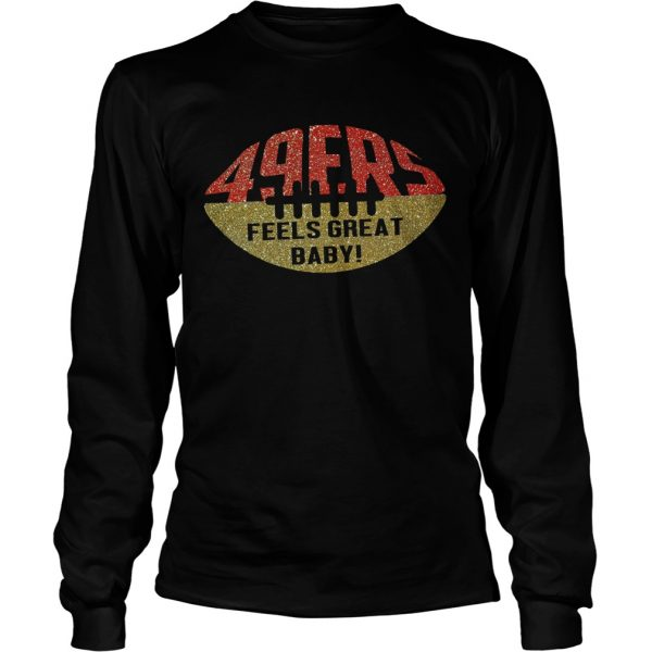 49ers Feels Great Baby Ball  LongSleeve