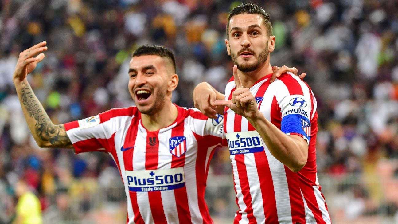 Atletico Madrid beat Barcelona to set up Supercopa derby with Madrid