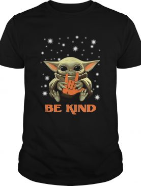Baby Yoda Hug Be Kind shirt