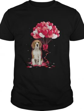 Beagle Love Balloons shirt