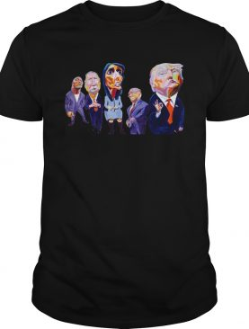Donald Trump Dwayne Johnson John Kasich Nikki Haley Mike Pence tshirt