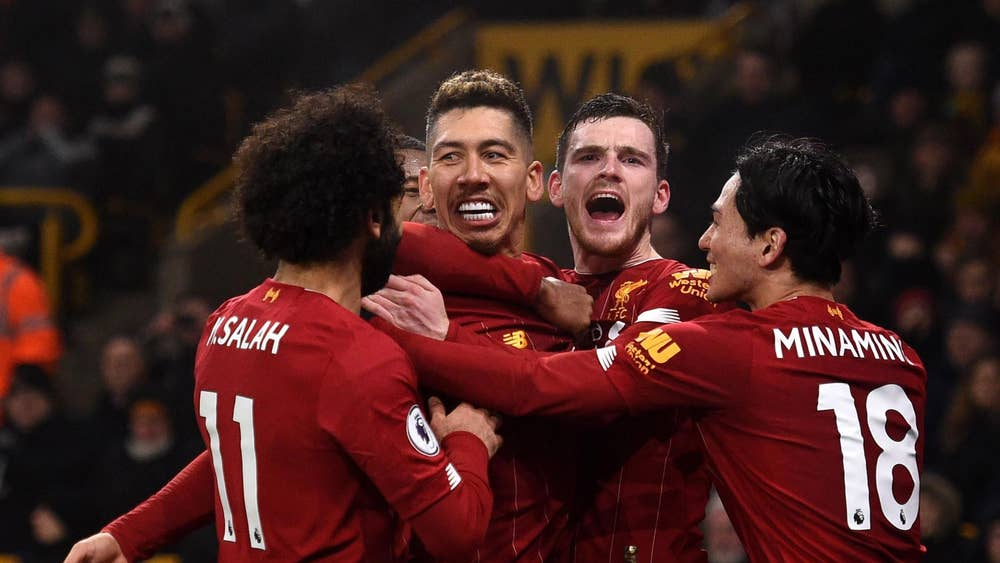 Liverpool down Wolves in dramatic fashion with late Roberto Firmino winner