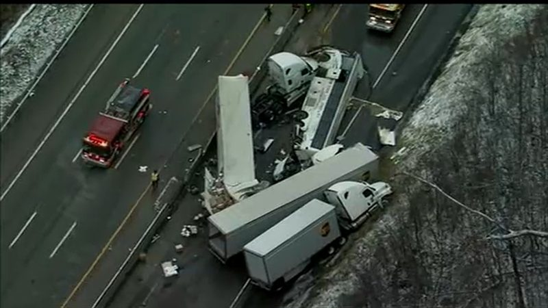 PA Turnpike accident: 5 dead, at least 60 hurt in tour bus crash outside Pittsburgh