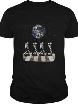 Astronaut The Beatles Abbey Road shirt