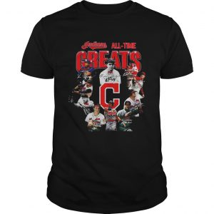 All Time Greats Signature Cleveland Indians  Unisex
