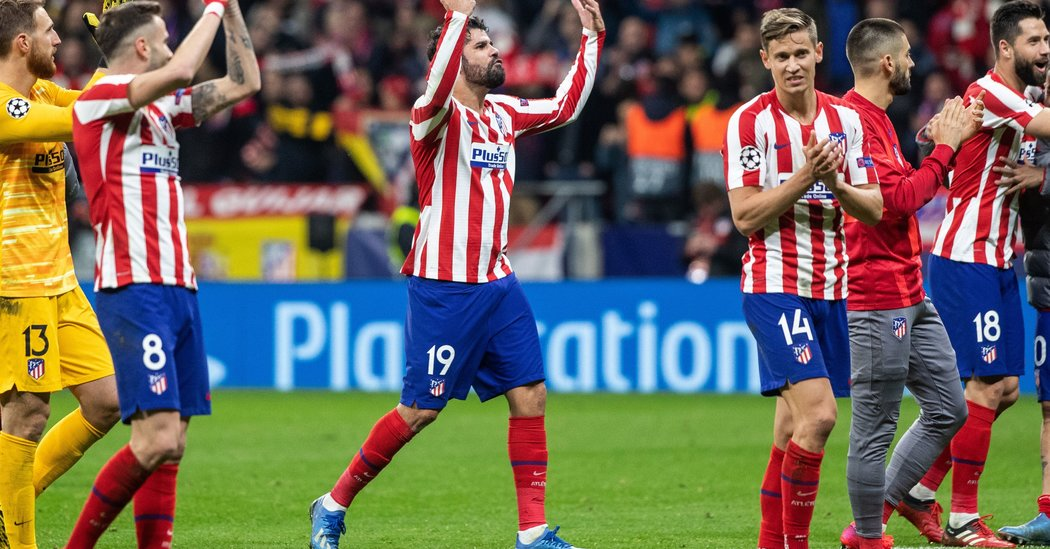 Atlético Madrid Takes Early Lead to Beat Liverpool