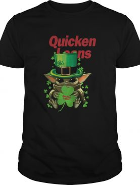 Baby Yoda Quicken Loans St Patricks Day Star Wars shirt