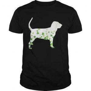Bloodhound St Patricks Day Shamrock Dog  Unisex