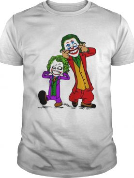 Double Joker Calvin and Hobbes shirt