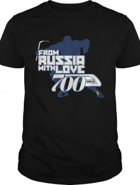 From Rusia With Love shirt