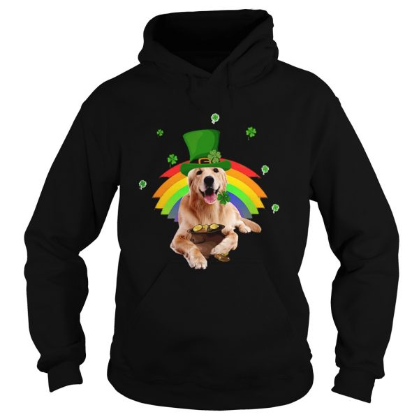Golden Retriever St Patricks day  Hoodie