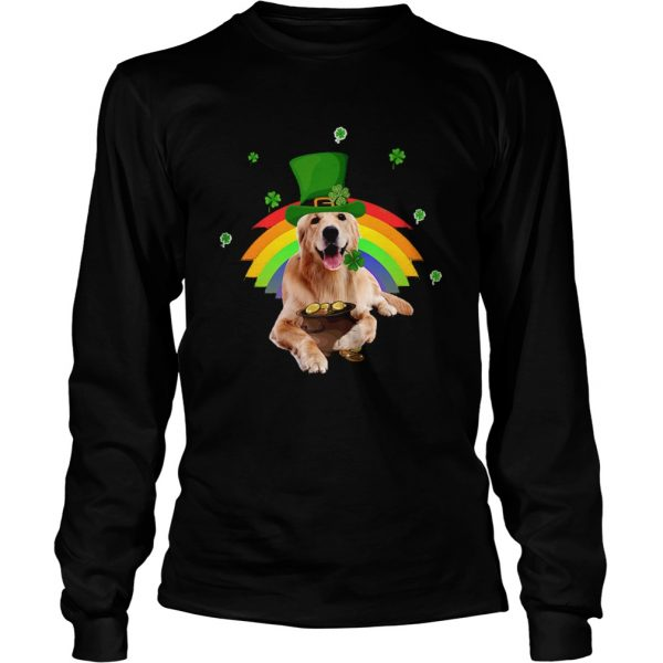 Golden Retriever St Patricks day  LongSleeve