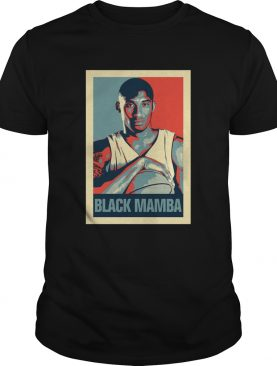 Kobe Bryant The Black Mamba Obama Hope shirt