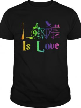 Love Harry Potter Is Love shirt