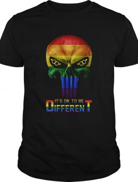 Punisher LGBT Its like to be different shirt