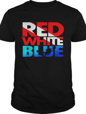 Red white blue shirt