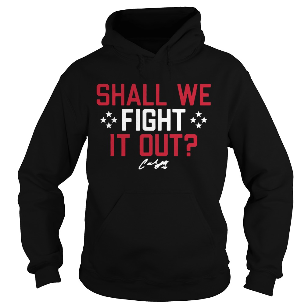 Shall We Fight it Out USWNTPA Hoodie